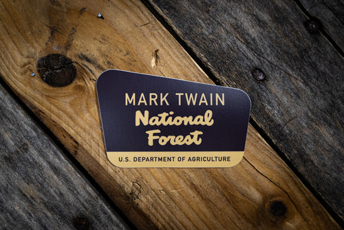 Mark Twain National Forest Die Cut Sticker