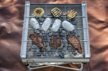 Load image into Gallery viewer, Quad-Fold Grill Grate for Fireside Pop-up Pit