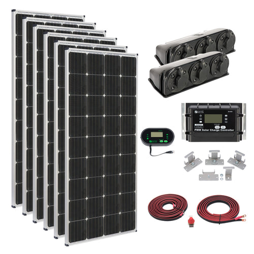1,020-Watt Roof Mount Kit - By Zamp Solar