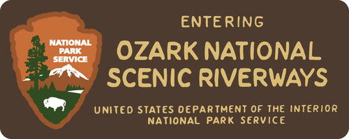 Ozark National Scenic Riverways Rubber Morale Patch