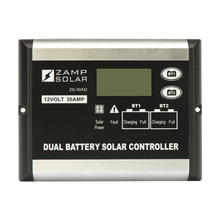 Load image into Gallery viewer, 30-Amp Dual Battery Bank 5-Stage PWM Charge Controller - By Zamp Solar