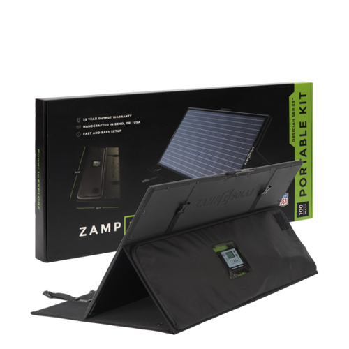 OBSIDIAN® SERIES 100-Watt Portable Kit - Regulated - Zamp Solar
