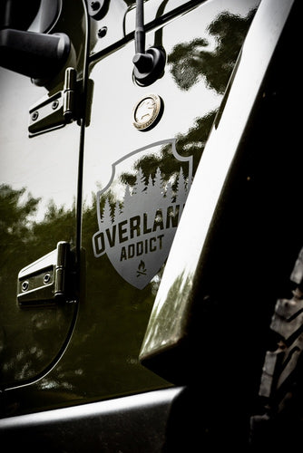 Overland Addict Vinyl Transfer Decal
