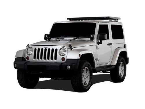 Jeep Wrangler JK 2 Door (2007-2018) Extreme 1/2 Roof Rack Kit - Front Runner