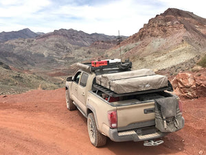 Toyota Tacoma Pickup Truck (2005-Current) Slimline II Load Bed Rack Kit - by Front Runner