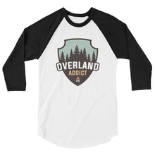Load image into Gallery viewer, Overland Addict 3/4 Sleeve Raglan Shirt (unisex)