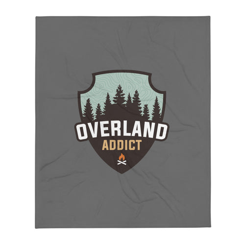 Overland Addict Blanket - Dark Gray
