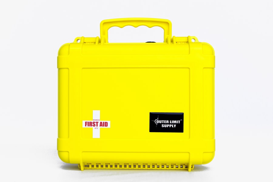 Outer Limit Supply Waterproof 6000 Series First Aid Kit