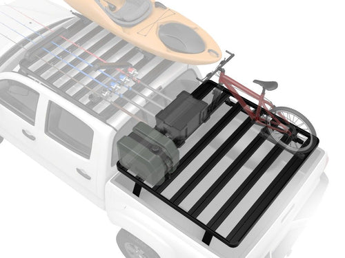 Toyota Tundra Crew Max Pickup Truck (1999-Current) Slimline II Load Bed Rack Kit - by Front Runner