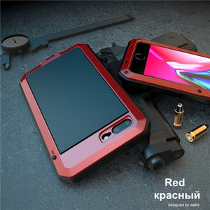 Luxury Doom Armor Metal Aluminum Phone Case