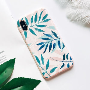 Mountain Peak Forest Silicone Case