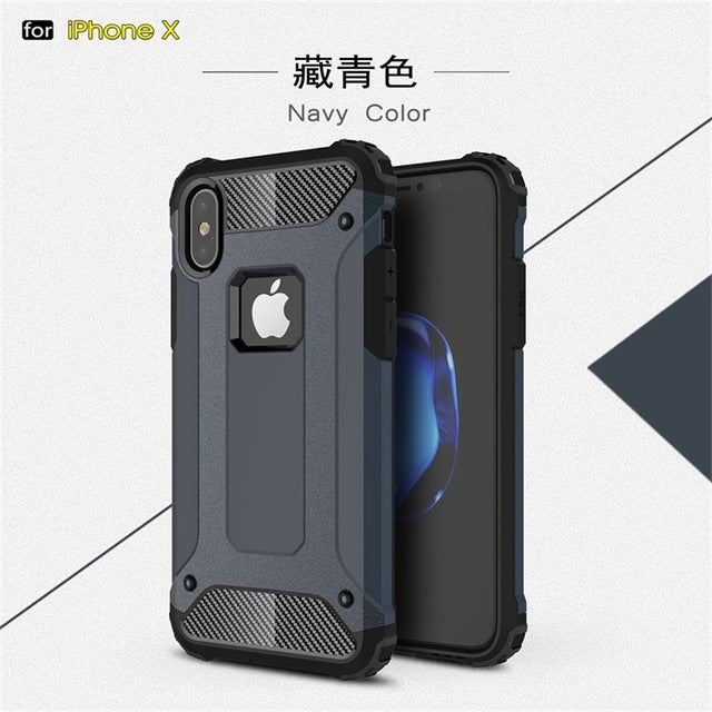 Shockproof Armor Silicone Case