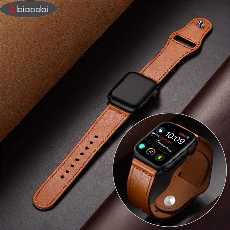 Lbiaodai Leather Watchband
