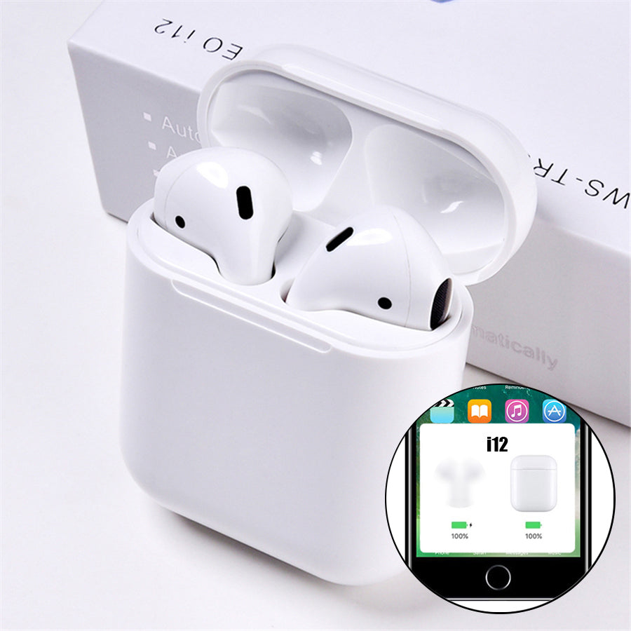 Pop Up Bluetooth Earphones- Wireless Touch Control