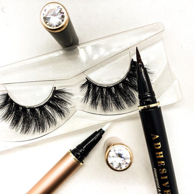 The World's First Eyeliner Lash Adhesive + Serum