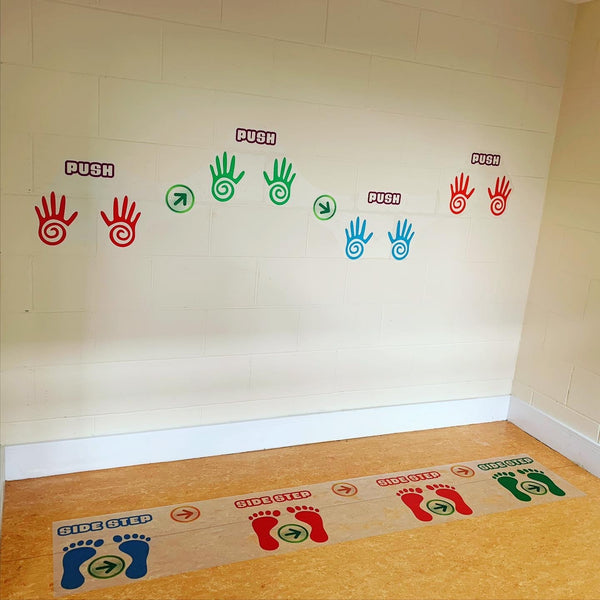 Sensory Living Floor Stickers