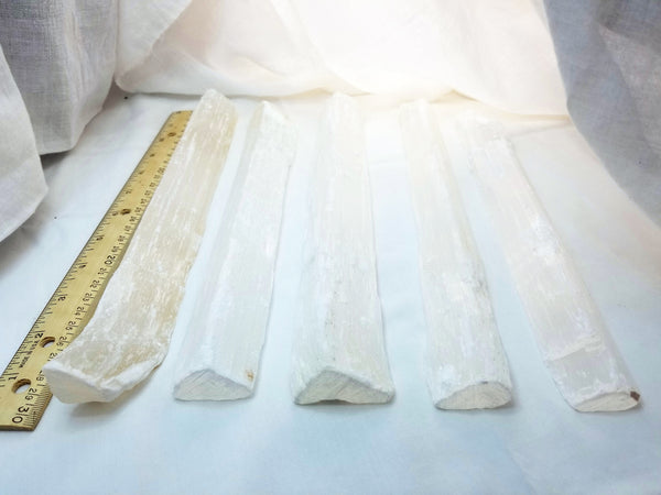 Raw Selenite Wand (Large)