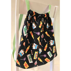 2019 I Sew For Fun Kids' Sewing Challenge Cinch Sack Kit–GREEN, Stitch it! Sisters, ShopNZP.com