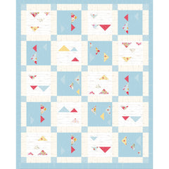 Shiplap Ahoy Lap and Double/Queen Quilt Pattern, Stitch it! Sisters, ShopNZP.com