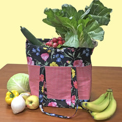 Cooler Grocery Tote Bundle Box, Stitch it! Sisters, ShopNZP.com