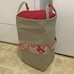 Taupe Big-Bigger Laundry Bag Bundle Box, Stitch it! Sisters, ShopNZP.com