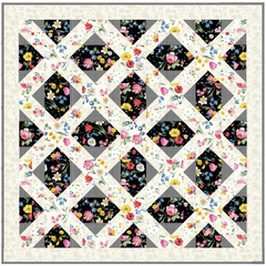 Afternoon Picnic Lap and Double/Queen Quilt Pattern, Stitch it! Sisters, ShopNZP.com
