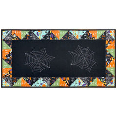 Spooky Spiderweb Table Runner, by The Nancy Zieman Productions Team