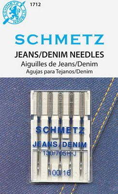 Jeans/Denim Needles, Size 100/16