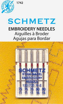 Embroidery Needles Assortment