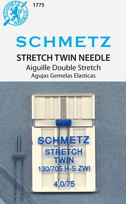 Stretch Twin Needle 4.0, Size 75/11