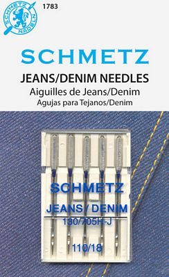 Jeans/Denim Needles, Size 110/18