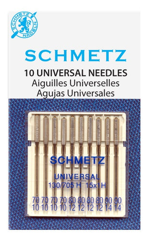 Universal Needle Assortment; Small Needle Sizes