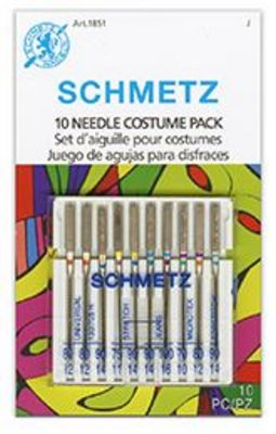 NEW! Costume Combination Needle Pack Assortment, 10 pc.