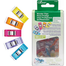 Load image into Gallery viewer, Rainbow Wonder Clips Assortment; 50 pc.