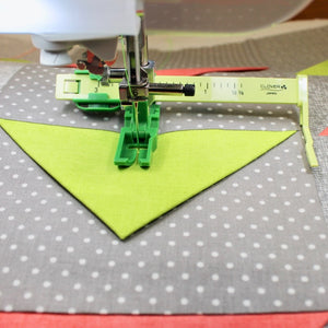 The Ultimate Quilt 'n Stitch Presser Foot by Team NZP for Clover