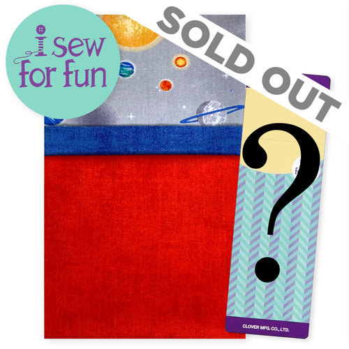 NEW! Exclusive 2020 I Sew For Fun Kids' Sewing Challenge Pillowcase Project Pack– Planets Red