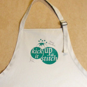 Kick It Up a Stitch! Apron
