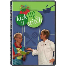 Load image into Gallery viewer, Nancy Zieman and Mary Mulari's Kick It Up a Stitch! DVD