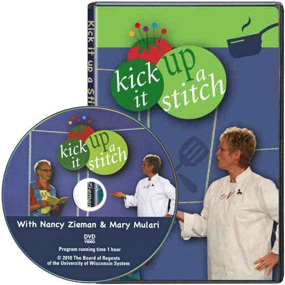 Nancy Zieman and Mary Mulari's Kick It Up a Stitch! DVD