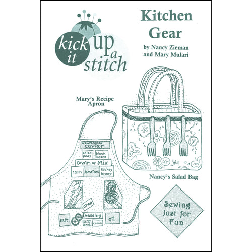 Kick It Up a Stitch! Kitchen Gear Pattern
