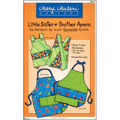 Little Sister & Brother Aprons Pattern