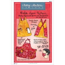 Load image into Gallery viewer, NEW! Viola Apron Pattern
