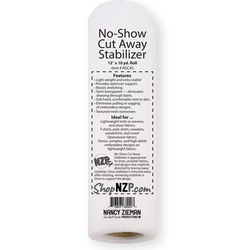 No-Show Cut Away Stabilizer