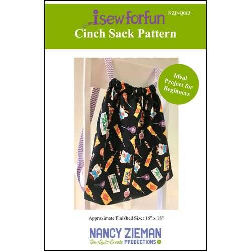 I Sew For Fun Cinch Sack Pattern