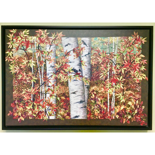 Peak Color Nancy Zieman Art Print