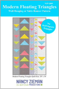 NEW! Modern Floating Triangles Wall Hanging Bundle Box with Supersize 5-in-1 Sliding Gauge