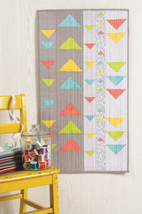 Modern Floating Triangles Wall Hanging Bundle Box