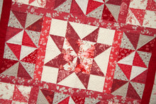 Load image into Gallery viewer, NEW! Red Elegance Lap and Double/Queen Quilt Pattern