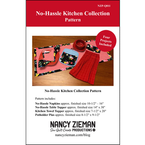 NEW! No-Hassle Kitchen Collection Pattern