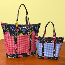 Load image into Gallery viewer, NEW! Cooler Grocery Tote and Insulated Lunch Tote Pattern
